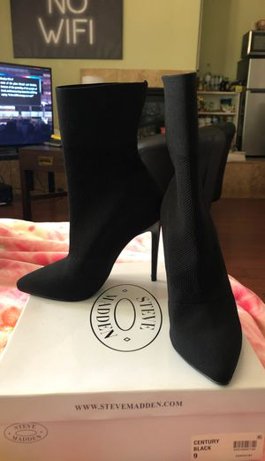 Steve Madden Black Boots for Sale in Hayward, CA