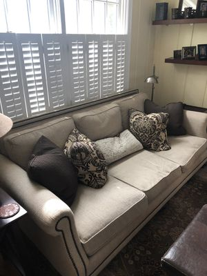 Couch and cushions for Sale in Washington, DC