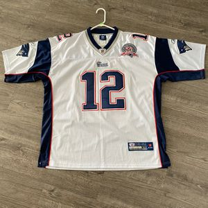 New England Patriots Tom Brady Jersey (50 Seasons Edition) for Sale in Indianapolis, IN