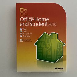 Microsoft Office Home and Student 2010 Windows Family Pack for Sale in Largo,  FL