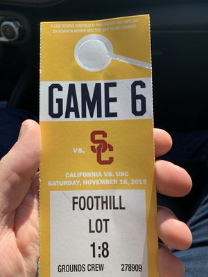 Cal USC Parking Pass for Sale in Oakland, CA