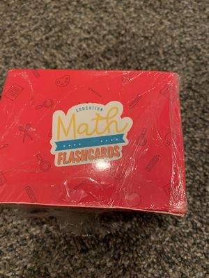 Math flash cards for Sale in Fresno, CA