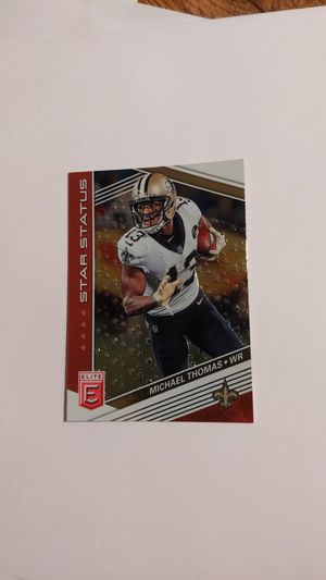 Michael Thomas star status pink parallel 2019 donruss elite for Sale in Ball Ground, GA