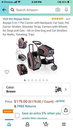 5 in 1 Pet Stroller for Sale in Wichita, KS