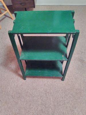 3 shelf green for Sale in Lisbon, ND