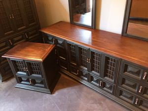 Bedroom set (Solid Wood) for a good offer for Sale in Bethesda, MD