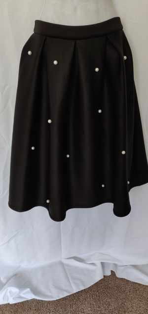 Skirt black with pearls for Sale in Auburn, WA