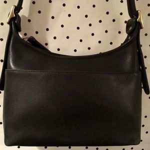 coach black leather crossbody bag purse for Sale in Seattle, WA