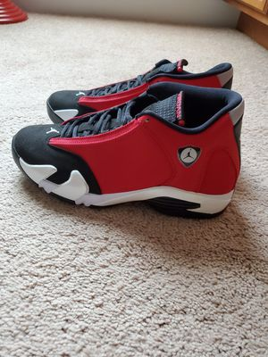 "Jordan 14 Retro ""Toro"" size 9 for Sale in Raeford, NC"