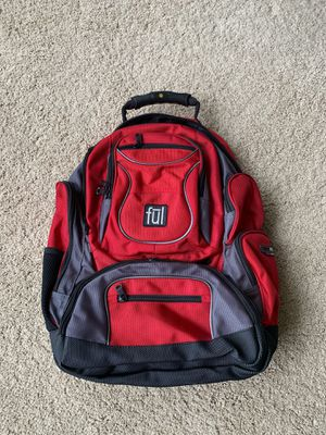 Ful laptop backpack - red for Sale in Issaquah, WA