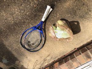Tennis rackets with balls for Sale in Henrico, VA