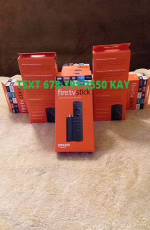 All New Unlocked Amazon Fire TV Stick w/ Voice+Volume Remote for Sale in Forest Park, GA