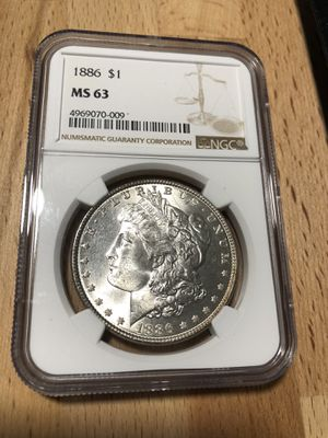 Morgan Silver Dollar - 1886 for Sale in Edmonds, WA