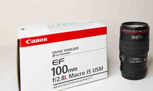 Canon EF 100mm Luxury Macro Lens (NO Credit Needed!!) As low as 39$ down today! for Sale in Garden Grove, CA