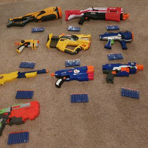 NERF Gun Lot *includes 100 NERF Darts* for Sale in Norco, CA