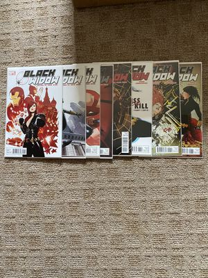 Marvel Black Widow 2010 5th series issues 1-8 for Sale in Union, NJ