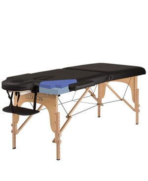 Luxton Home Premium Memory Foam Massage Table - Easy Set Up - Foldable & Portable for Sale in Los Angeles, CA