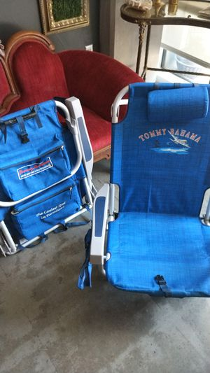 Tommy Bahama backpack chair - pair for Sale in Dallas, TX