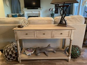 Wooden Shabby Chic Style Rustic Console Table for Sale in Washington, DC