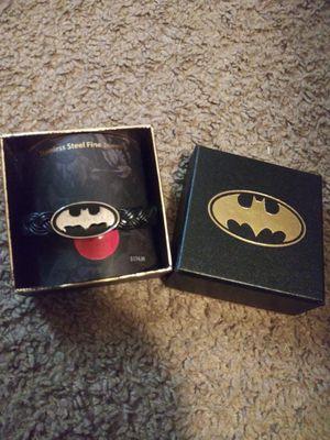 Batman stainless steel bracelet for Sale in Fayetteville, AR