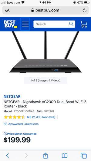 Netgear Nighthawk AC2300 router for Sale in Frisco, TX