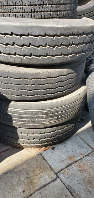 Semi Truck/ Trailer Tires 275/80/22.5 for Sale in Downey, CA