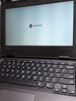 Lenovo Chromebook Core 2 Duo Laptop Computer Processor: 2.0ghz Core 2 Duo Memory: 4Gb Ram Harddisk: 32GB SSD 100% Tested Working 30 Days Warranty for Sale in Brooklyn,  NY
