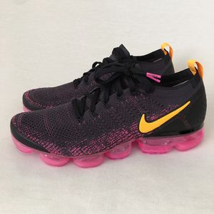 Nike Air Vapormax Flyknit 2 Black Pink Running Shoes Men's Size 11 for Sale in Las Vegas, NV