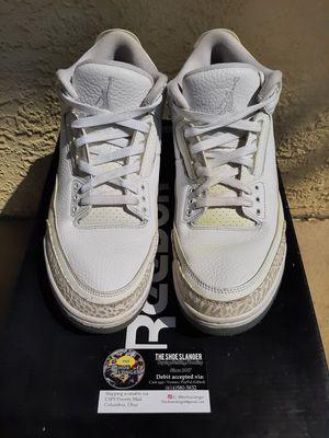 Air Jordan 3 Triple white for Sale in Columbus, OH