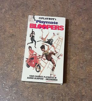 Playboy's Playmate Bloopers VHS Tape - VGC for Sale in Fox Lake, IL