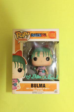 Funko POP Dragon Ball Z Bulma Signed Autograph by Monica Rial for Sale in San Jose, CA