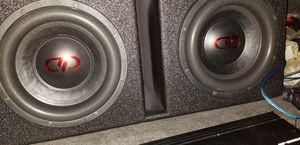 10s subs and box for Sale in Suffolk, VA