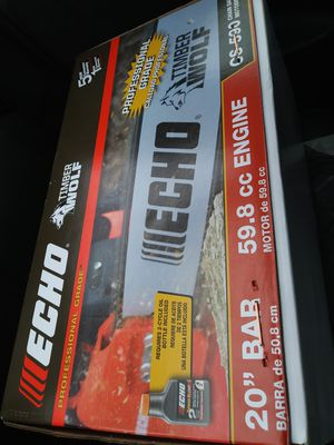 Echo cs-590 Chainsaw for Sale in Silver Spring, MD