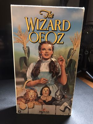 1989 The Wizard of Oz VHS for Sale in Riverside, CA