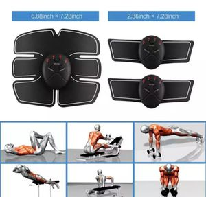 EMS Abdominal Muscle Trainer Massage Stimulator Exercise Slim Body Vibration Machine Loss weight Smart Fitness Equipment for Sale in Perth Amboy, NJ