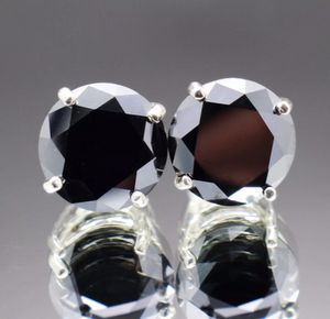 8.34 TCW Natural Black Diamond stud earrings for Sale in San Francisco, CA