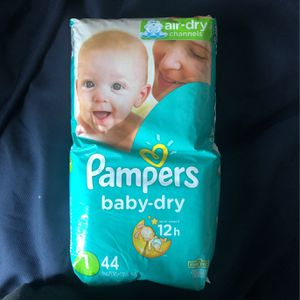 Size 1 Pampers for Sale in Anaheim, CA