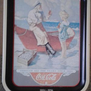 "1987 COKE BRAND TRAY ""SEA CAPTAIN"" COLLECTIBLE Coca-Cola Fiftieth Anniversary 1886 -1936 for Sale in Manteca, CA"