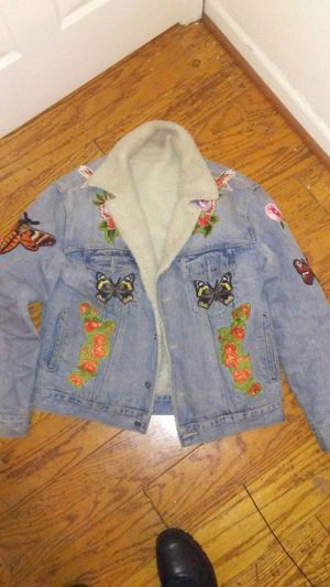 Fly sh*t only Hudson jean jacket size is XL for Sale in Fort Washington, MD