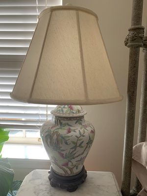 Ginger Glass Table Lamp for Sale in Washington, DC