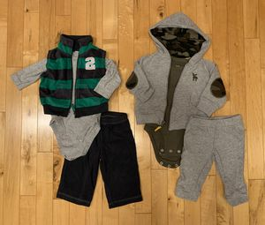Carter's 6 months Winter Outfits for Sale in Aurora, IL