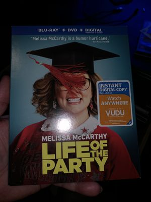 Life of the party blue ray for Sale in Sanger, CA