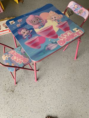 Kids table with chairs for Sale in San Jose, CA