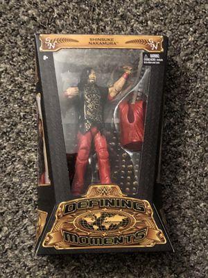 WWE Mattel Elite Defining Moments Shinsuke Nakamura Brand New for Sale in Fresno, CA