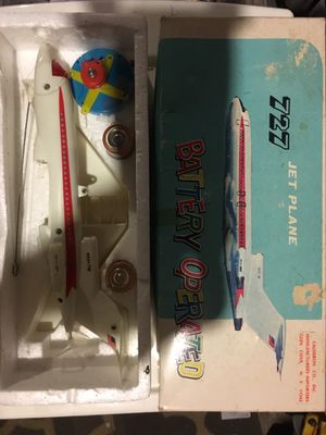 1970s battery operated jet for Sale in Roanoke, VA