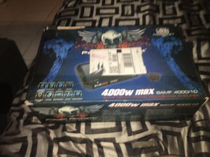 Brand new power acoustic amp 4,000 watts for Sale in Miami, FL
