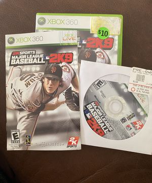 2K Sports Major League Baseball 2K9 XBOX 360 LIVE for Sale in Miramar, FL
