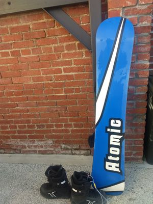 Snowboard and bindings for Sale in Washington, DC