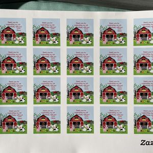 Farm Theme 1st Birthday Stickers For Baby Named Oliver for Sale in Santa Clara, CA