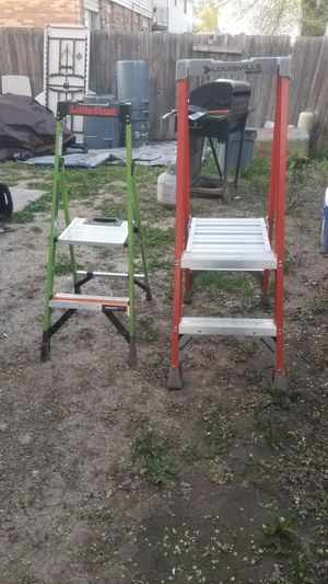 2 ft ladder $80 for both for Sale in West Valley City, UT